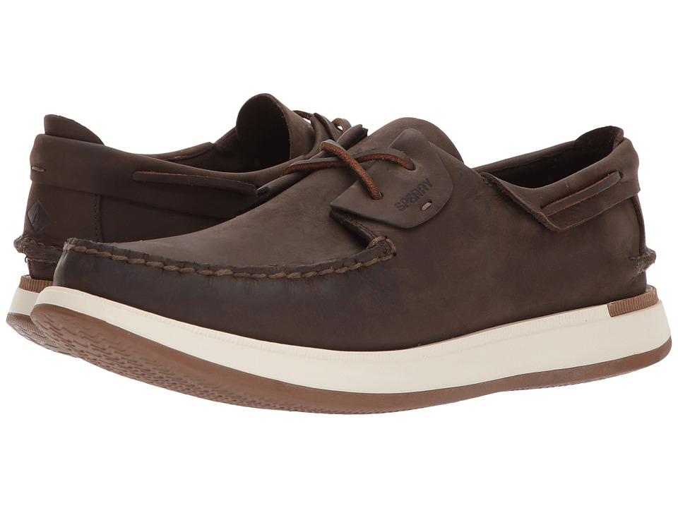 Sperry Caspian Leather (Brown) Men