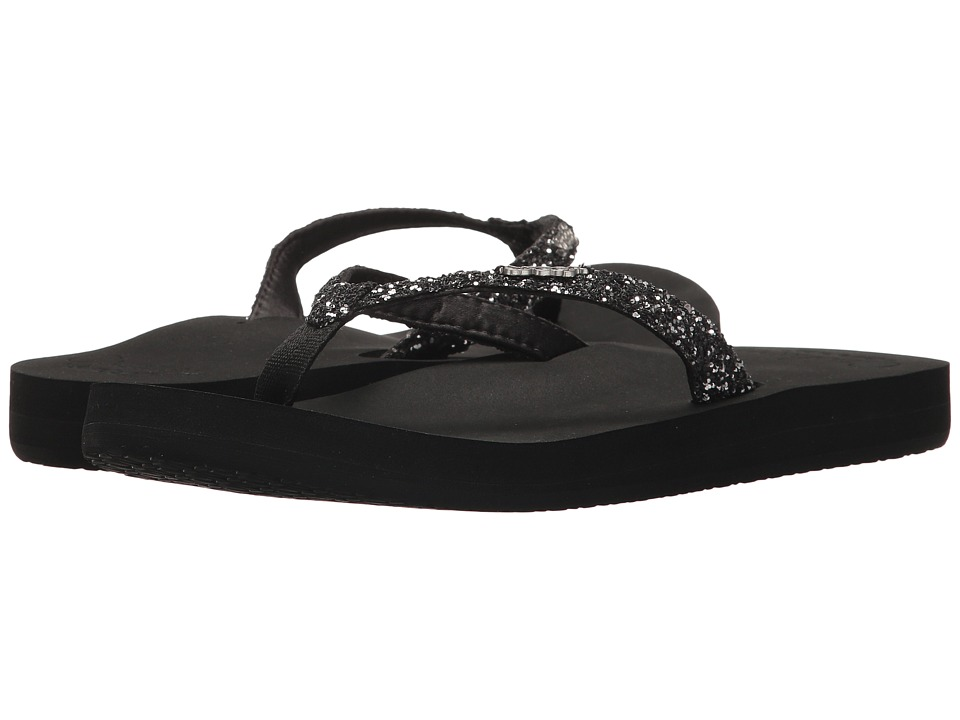 Reef Star Cushion (Black/Gunmetal) Women's Shoes
