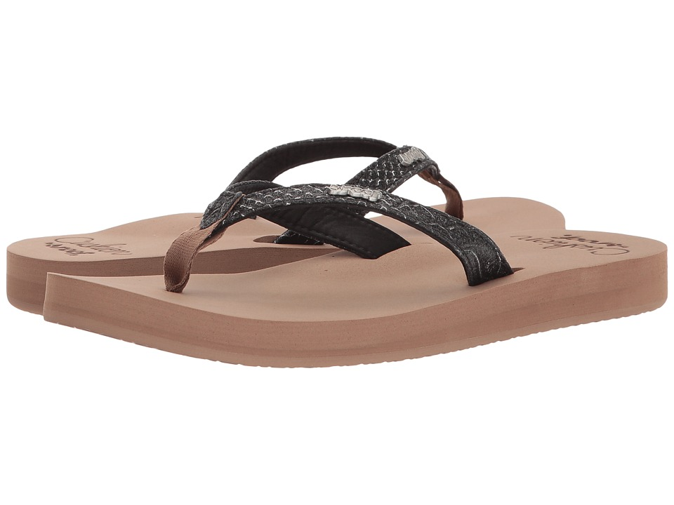 Reef Star Cushion Sassy (Crocodile) Sandals