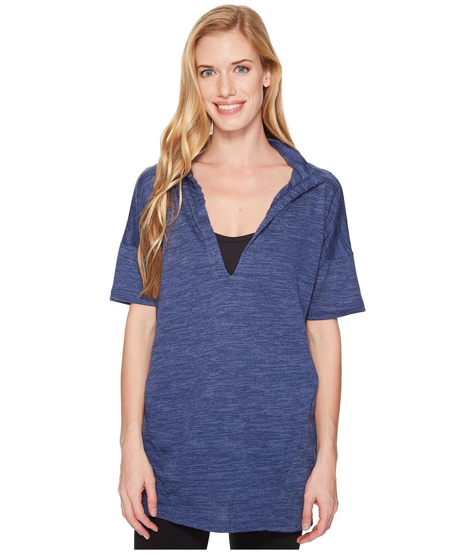 Lole Calixa Tunic (Evening Blue Heather) Women's Dress