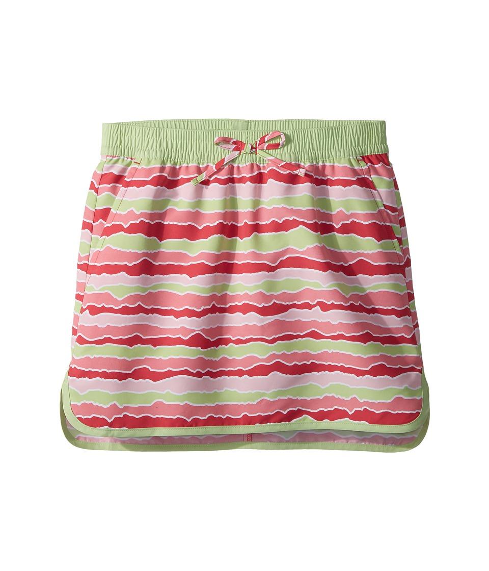 Columbia Kids - Solar Stream Skort (Little Kids/Big Kids) (Punch Pink Stripe) Girls Skort