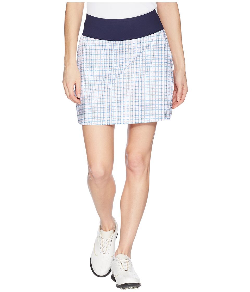 PUMA Golf - Powershape Sport Knit Skirt (Peacoat) Womens Skirt