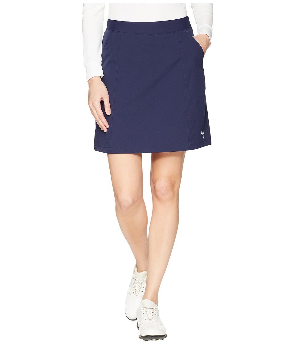 PUMA Golf - 18 Pounce Skirt (Peacoat) Womens Skirt