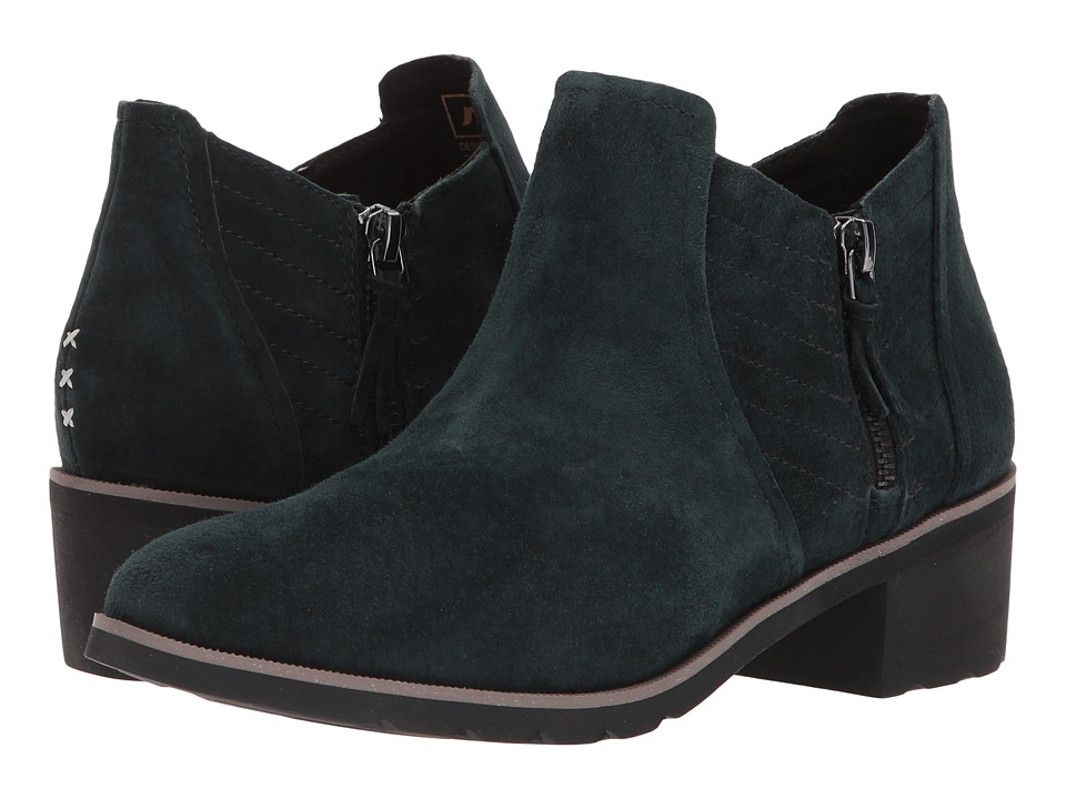 Reef Voyage Boot Low (Black/Black) Women's Pull-on Boots
