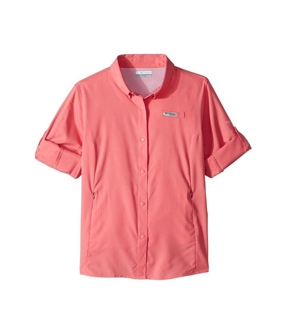 Columbia Kids - Tamiamitm Long Sleeve Shirt (Little Kids/Big Kids) (Lollipop) Girls Clothing