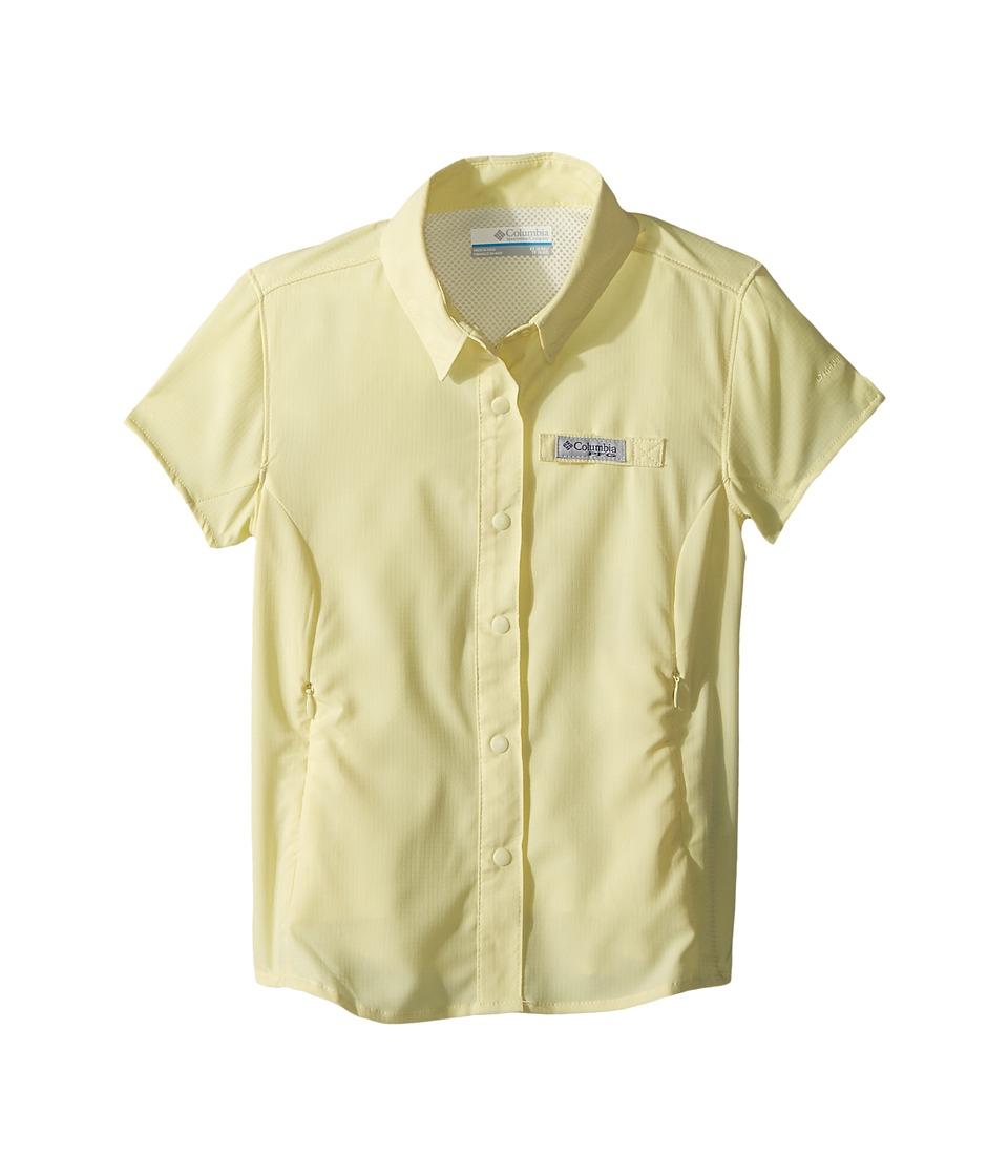 Columbia Kids - Tamiami Short Sleeve Shirt (Little Kids/Big Kids) (Endive) Girls Short Sleeve Button Up