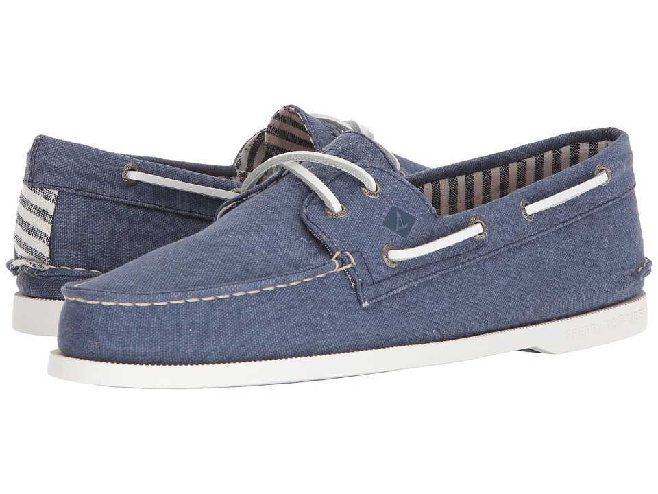 Sperry A/O 2-Eye Washed (Navy 2) Men