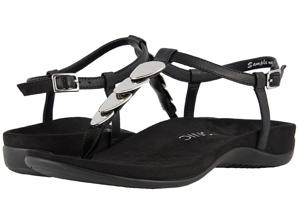 VIONIC Miami (Black) Sandals