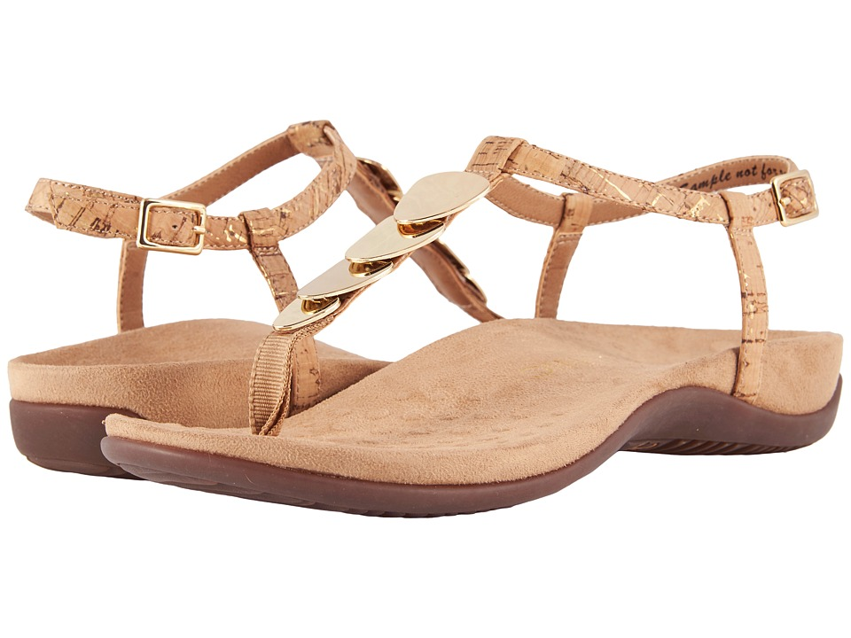 VIONIC Miami (Gold Cork) Sandals