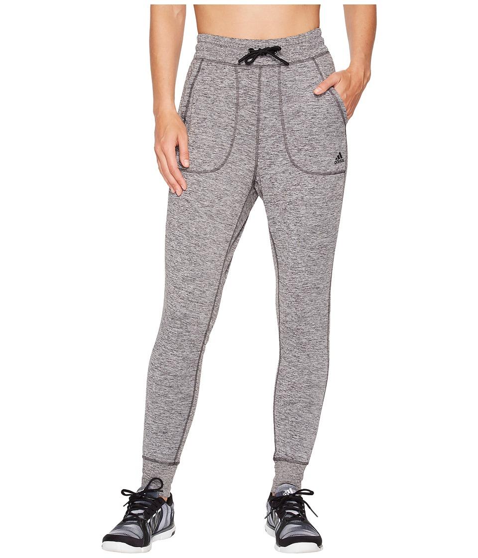 adidas Sport ID Top Jogger Pants (Black Melange) Women