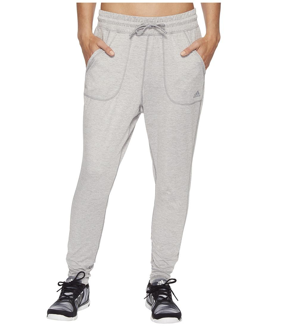 adidas Sport ID Top Jogger Pants (Medium Grey Heather) Women