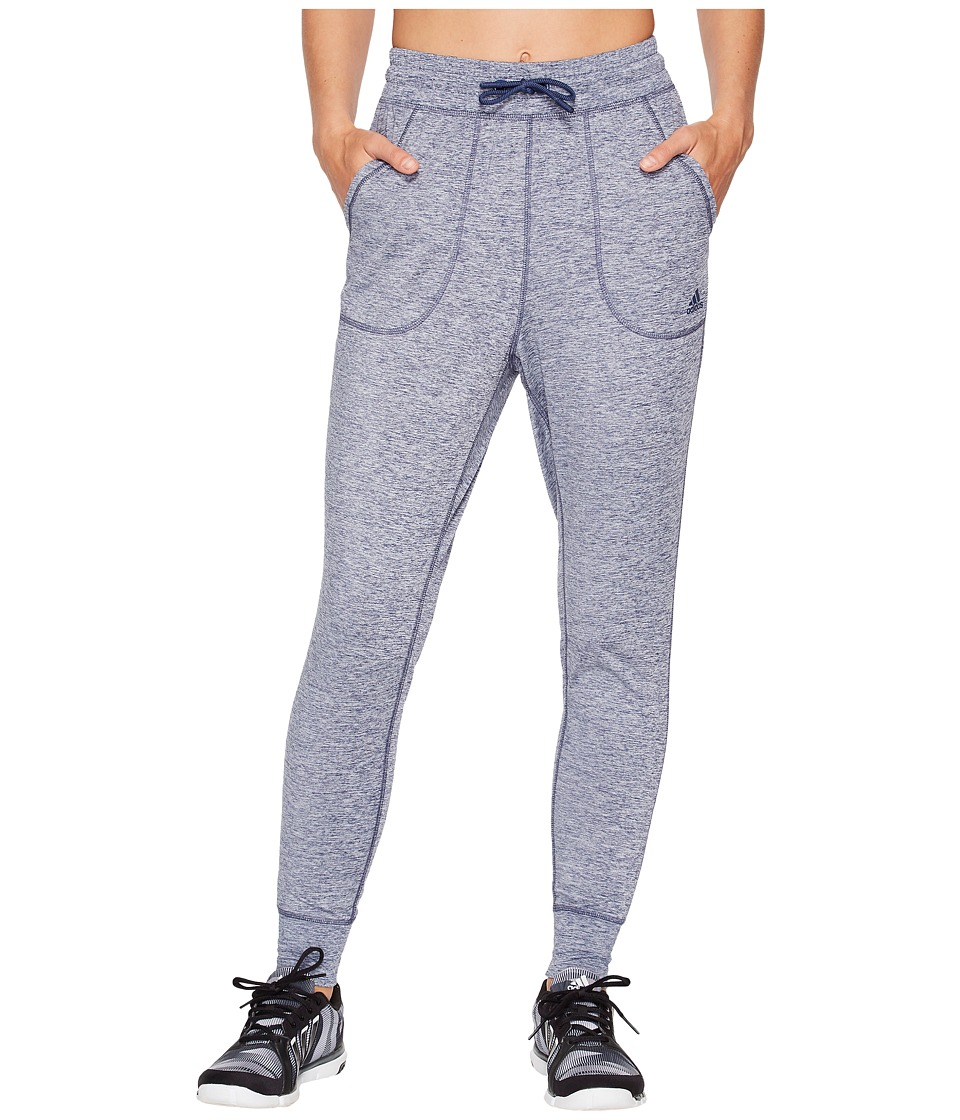 adidas Sport ID Top Jogger Pants (Noble Indigo Melange) Women