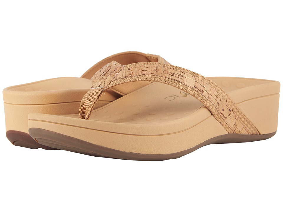 VIONIC High Tide (Gold Cork) Sandals