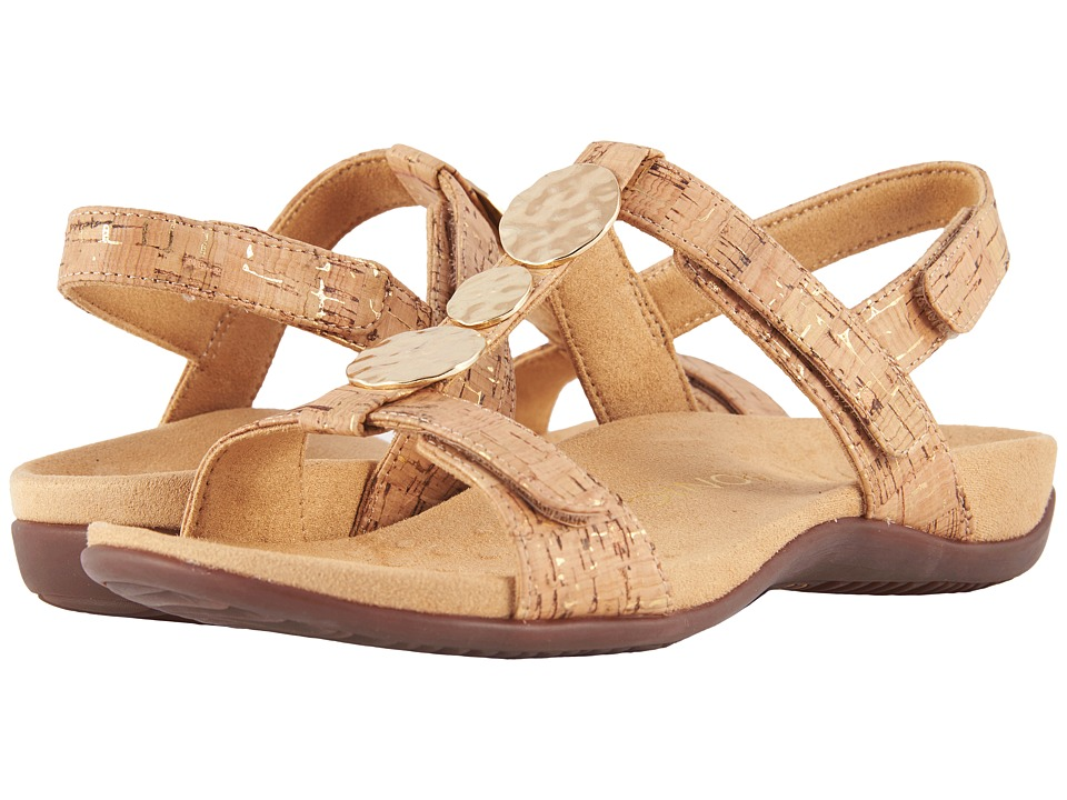VIONIC Farra (Gold Cork) Sandals