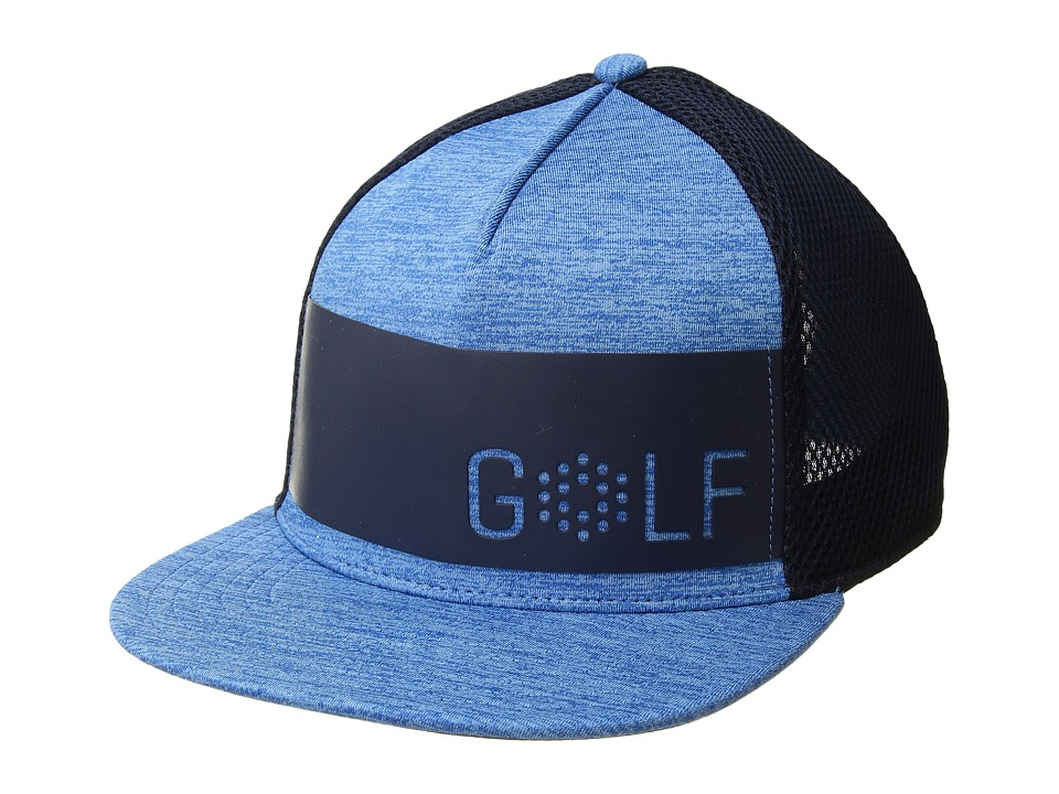 PUMA Golf - Wordmark Snapback Cap (Electric Blue Lemonade) Caps