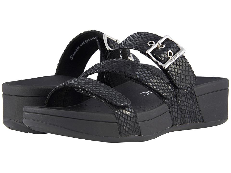 VIONIC - Rio (Black Snake) Women's Sandals