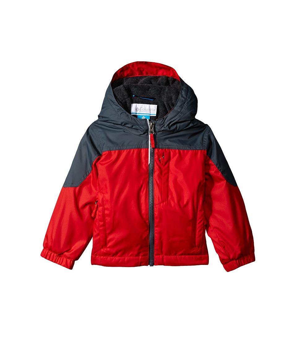 Columbia Kids - Ethan Pondtm Jacket (Toddler) (Bright Red/Graphite) Boys Coat