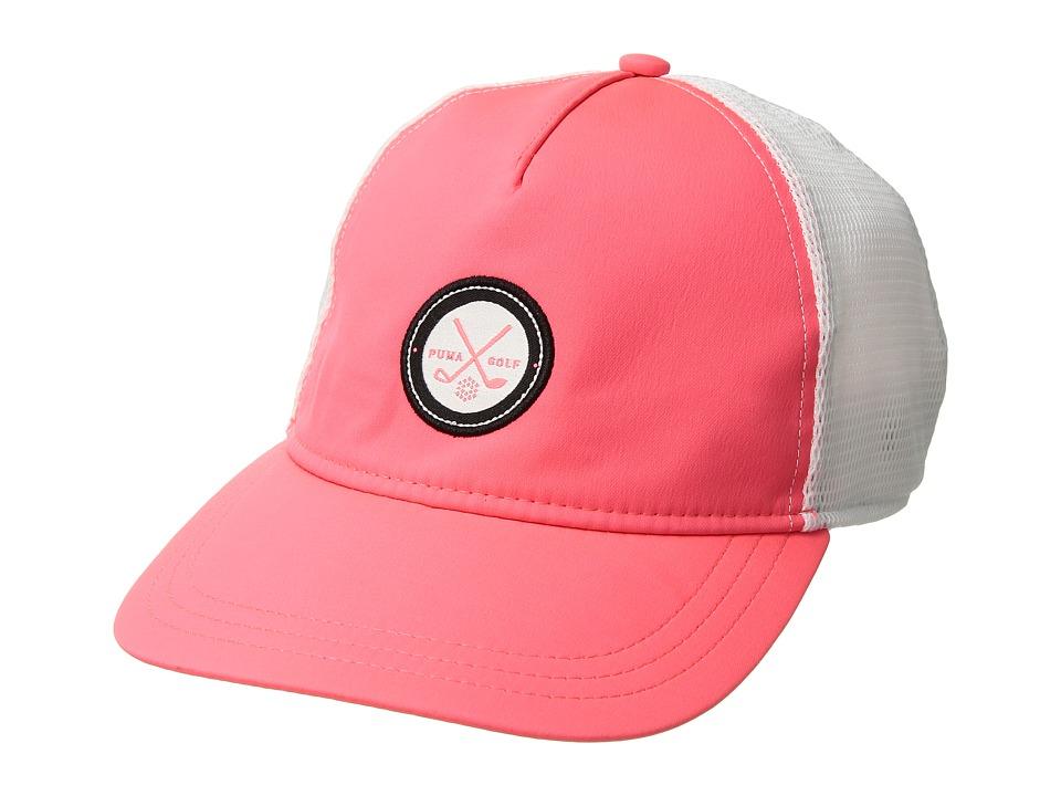 PUMA Golf - Patch Snapback (Bright Plasma/Bright White) Caps