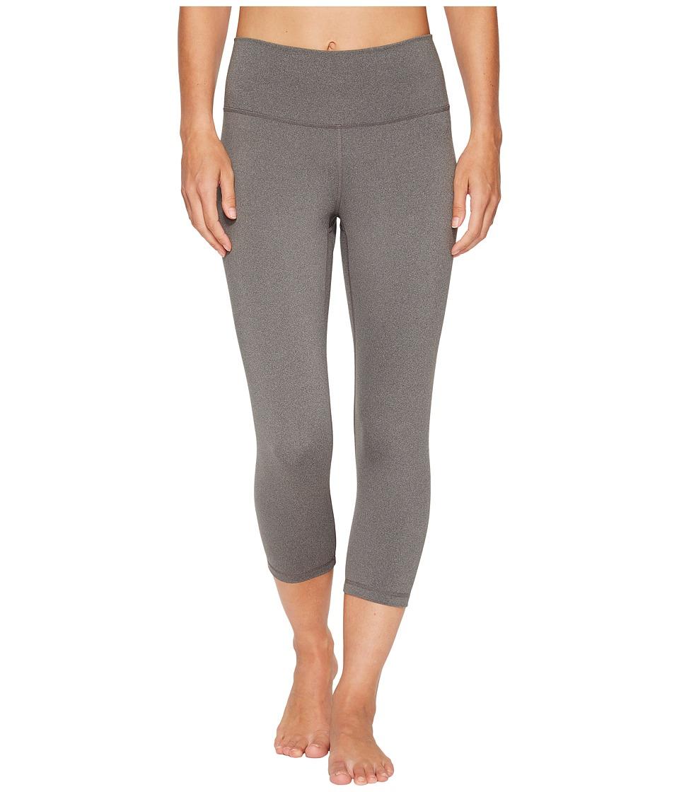 adidas Believe This High-Rise 3/4 Tights (Dark Grey Heather) Women