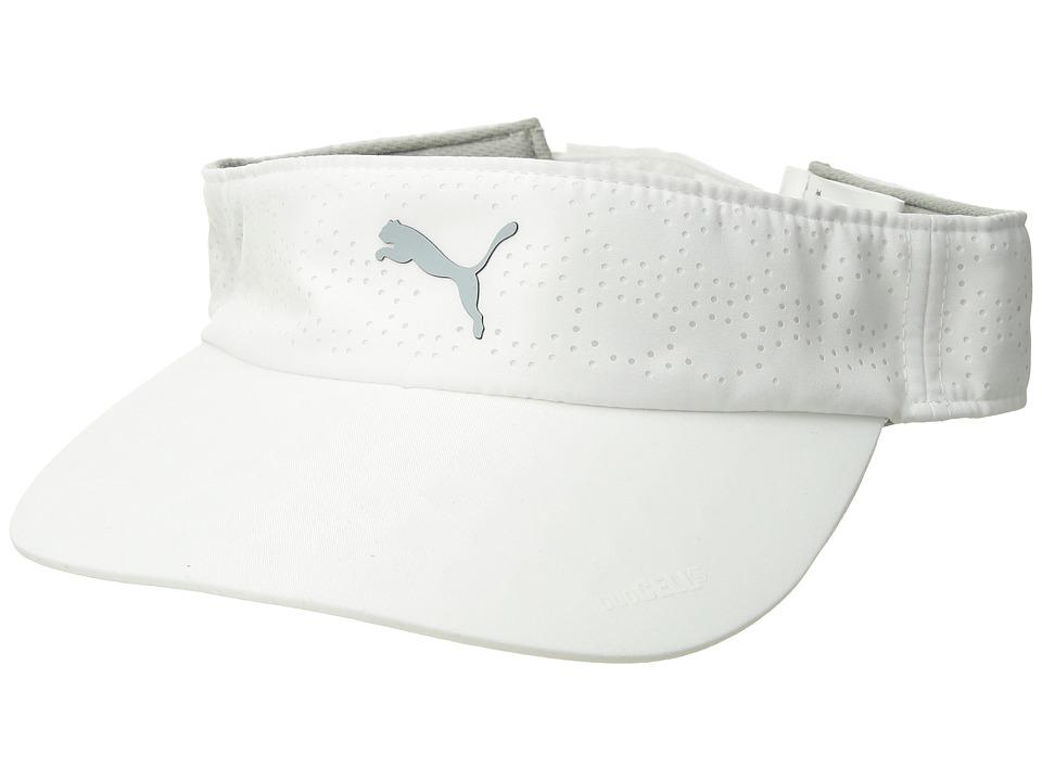 PUMA Golf - DuoCELL Visor (Bright White) Casual Visor