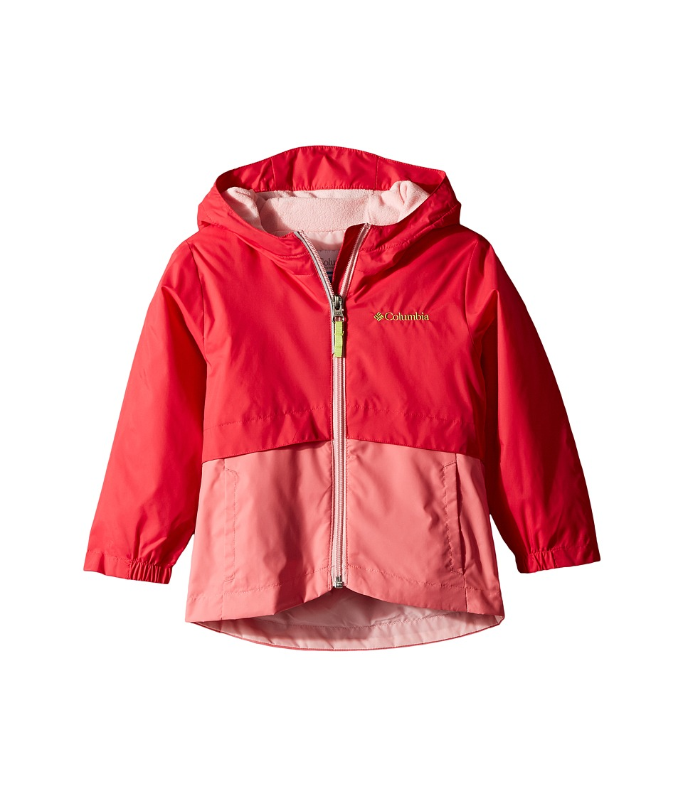 Columbia Kids - Rain-Zillatm Jacket (Toddler) (Punch Pink/Lollipop/Cherry Blossom/Green Glow Logo) Girls Jacket