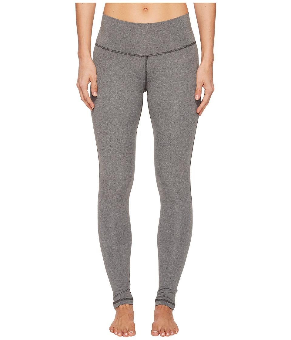 adidas Believe This High-Rise Long Tights (Dark Grey Heather) Women
