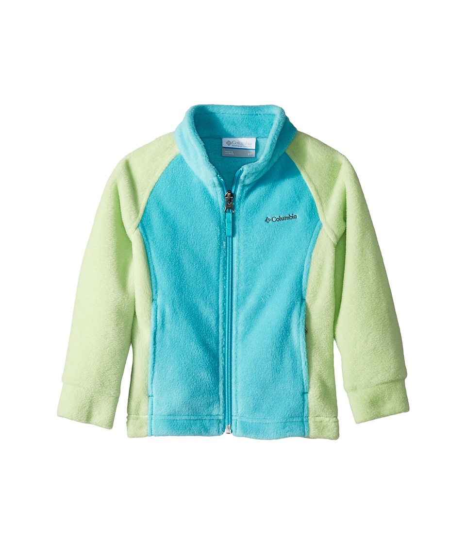 Columbia Kids - Benton Springstm Fleece (Toddler) (Jade Lime/Geyser) Girls Fleece