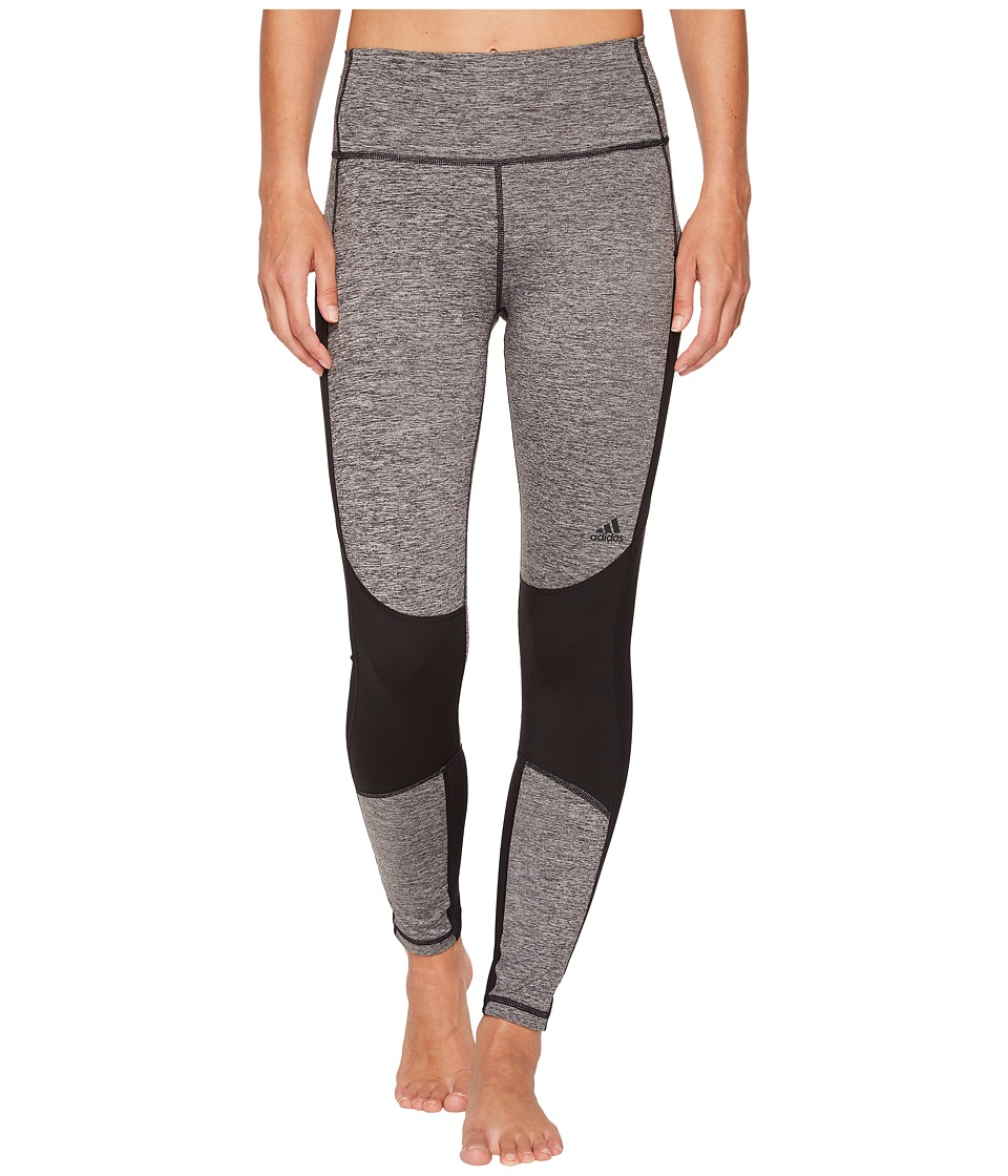 adidas Believe This High-Rise 7/8 Soft Tights (Black) Women