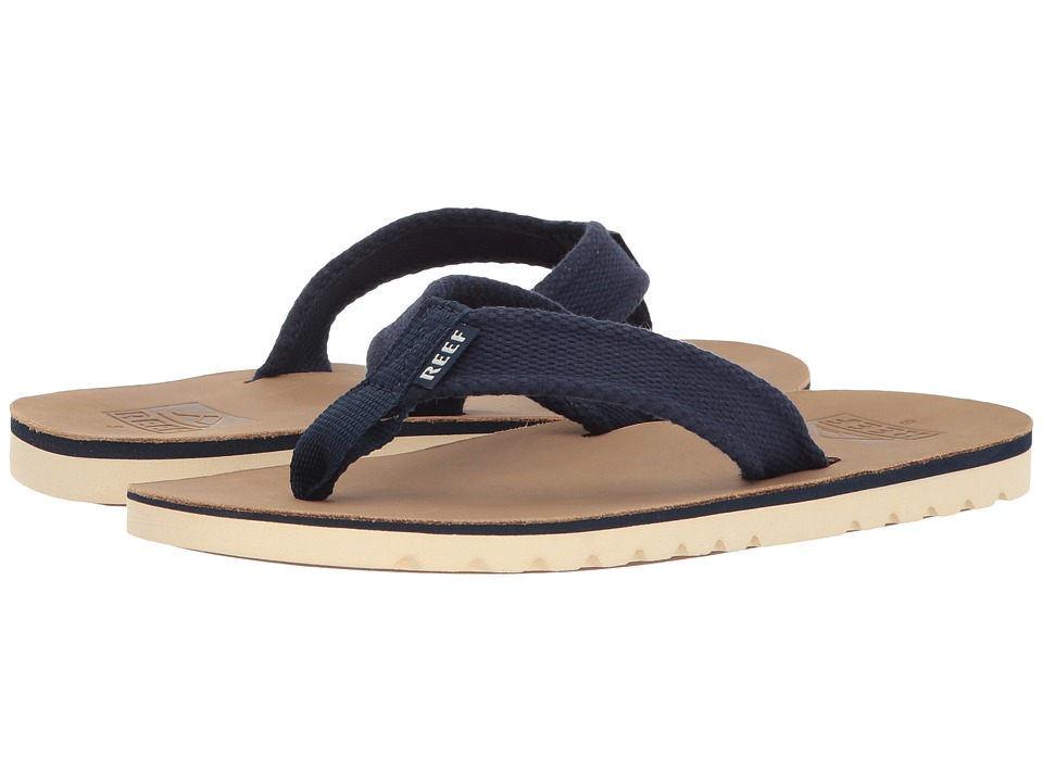 Reef - Voyage TX (Tan/Blue) Men's Sandals