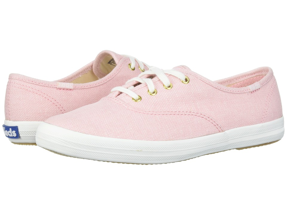 Keds - Champion Chalky Canvas (Rose Pink) Womens Lace up casual Shoes