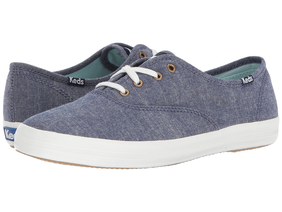 Keds - Champion Seasonal Solid (Navy) Womens Lace up casual Shoes