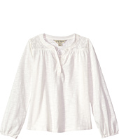 Lucky Brand Kids - Marissa Slub Jersey Peasant Top (Big Kids)