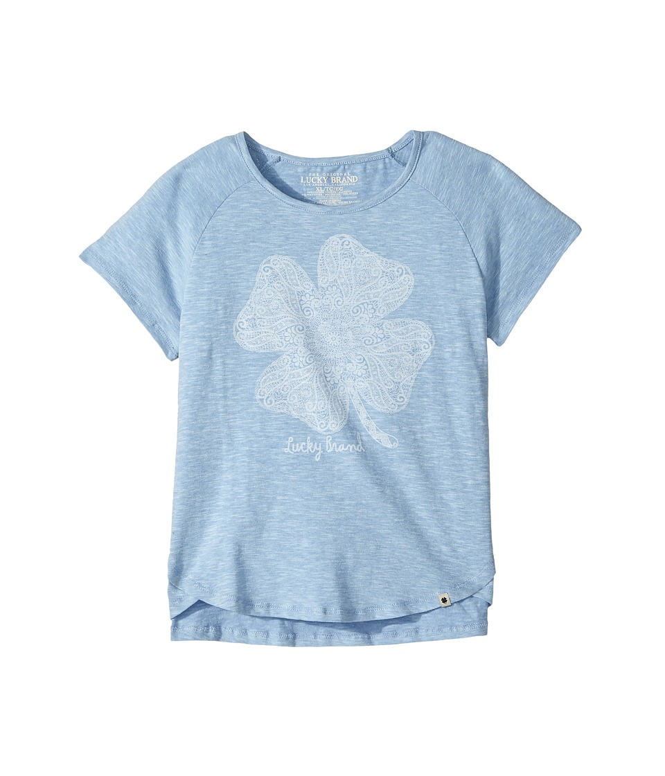 Lucky Brand Kids - Lucky Lace Slub Jersey Tee