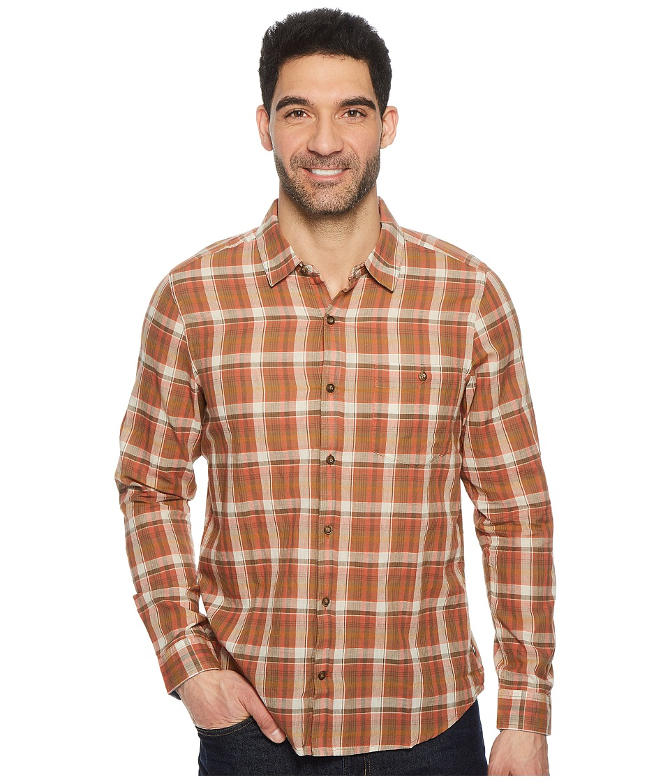 Toad&Co - Cuba Libre L/S Shirt (Terra Cotta) Mens Long Sleeve Button Up
