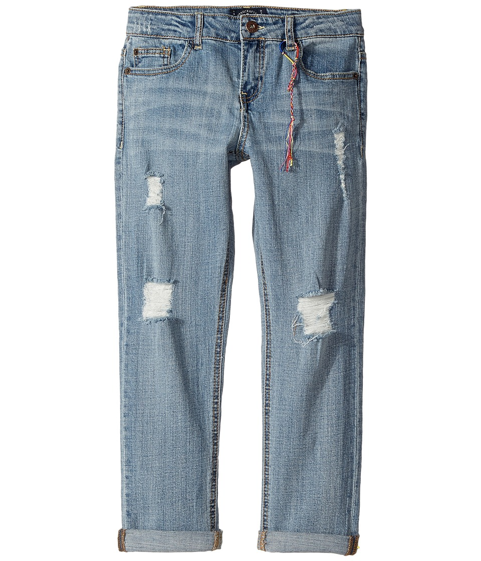 Lucky Brand Kids Carol Five-Pocket Boyfriend Jeans in Christie Wash (Big Kids) (Christie Wash) Girl