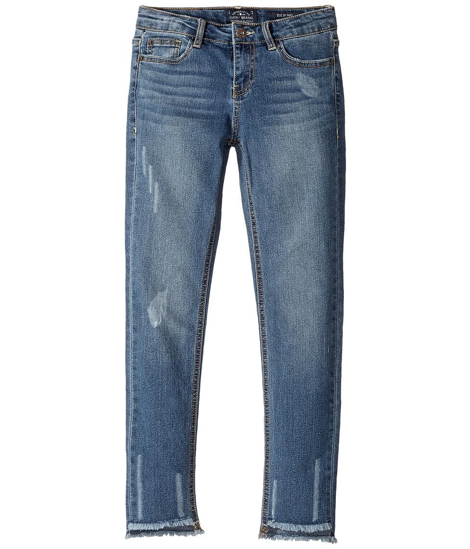 Lucky Brand Kids Lynda Five-Pocket Jeans in Madeleine Wash (Big Kids) (Madeleine Wash) Girl
