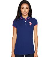 U.S. POLO ASSN. - Solid Pique Polo Shirt