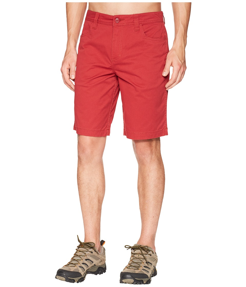 Toad&Co - Mission Ridge Short (Brick Red) Mens Shorts