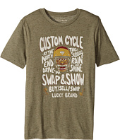 Lucky Brand Kids - Monster Rally Short Sleeve Graphic Tee (Big Kids)