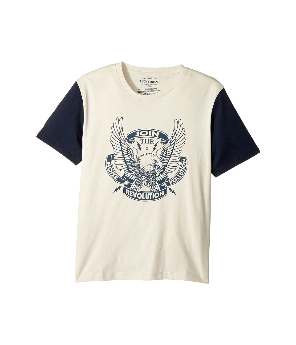 Lucky Brand Kids - Noise Pollution Short Sleeve Graphic Tee