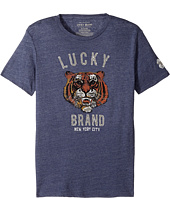 Lucky Brand Kids - Lucky Tiger Short Sleeve Graphic Tee (Big Kids)