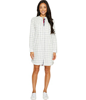 U.S. POLO ASSN. - Pintuck Hi-Lo Shirtdress