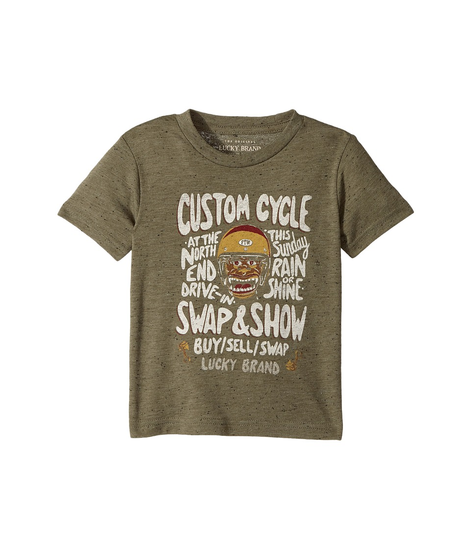 Lucky Brand Kids - Monster Rally Short Sleeve Graphic Tee