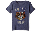 Lucky Brand Kids - Lucky Tiger Short Sleeve Graphic Tee (Toddler)
