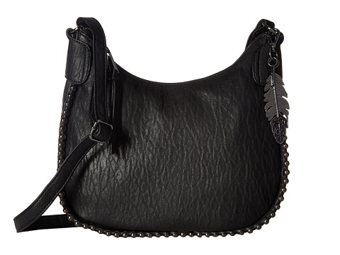 Jessica Simpson Camile Top Zip Crossbody - Black