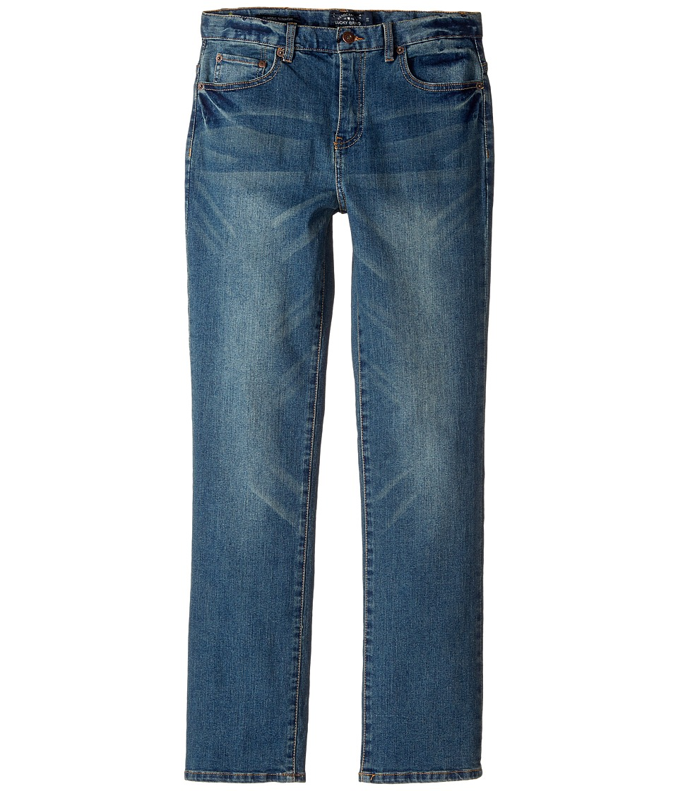 Lucky Brand Kids - Five-Pocket Classic Straight Stretch Denim Jeans in Yorba Linda