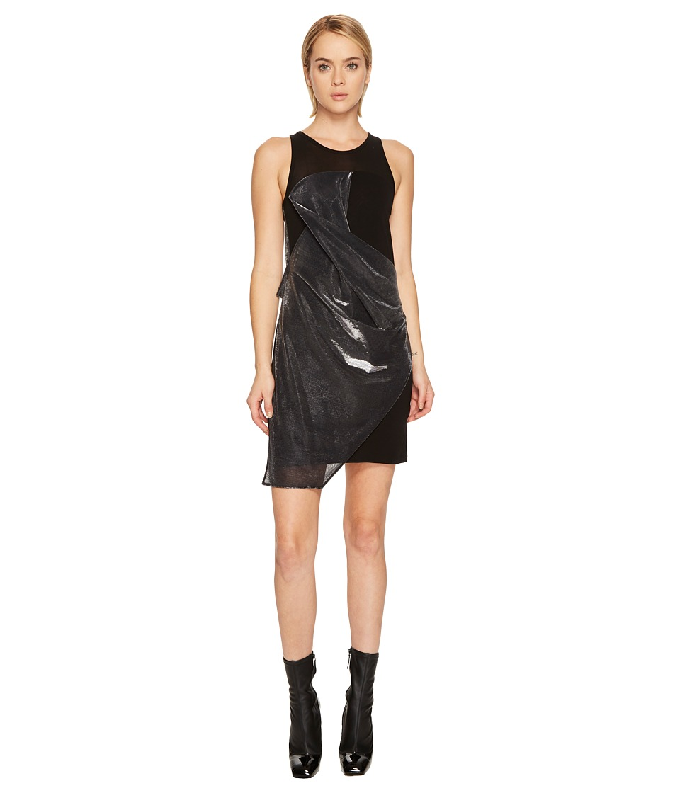 Versus Versace - Abito Donna Jersey (Black/Silver) Womens Dress