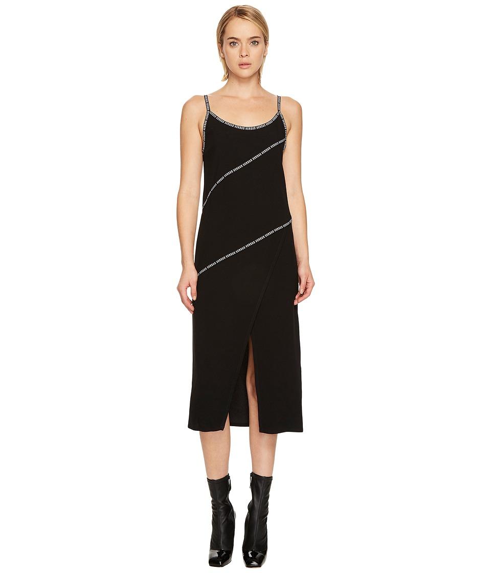 Versus Versace - Abito Donna Tessuto (Black) Womens Dress
