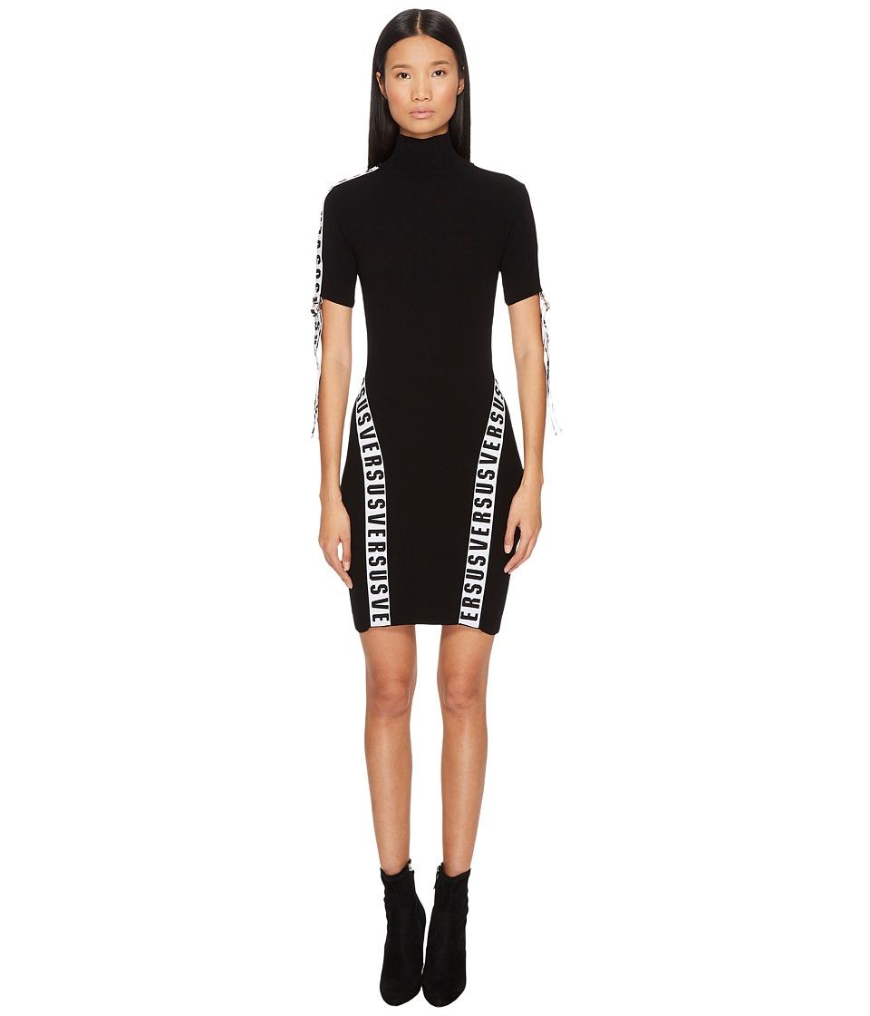Versus Versace - Abito Maglia Donna (Black) Womens Dress