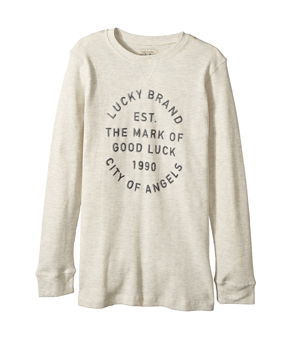 Lucky Brand Kids - Long Sleeve Graphic Thermal Tee
